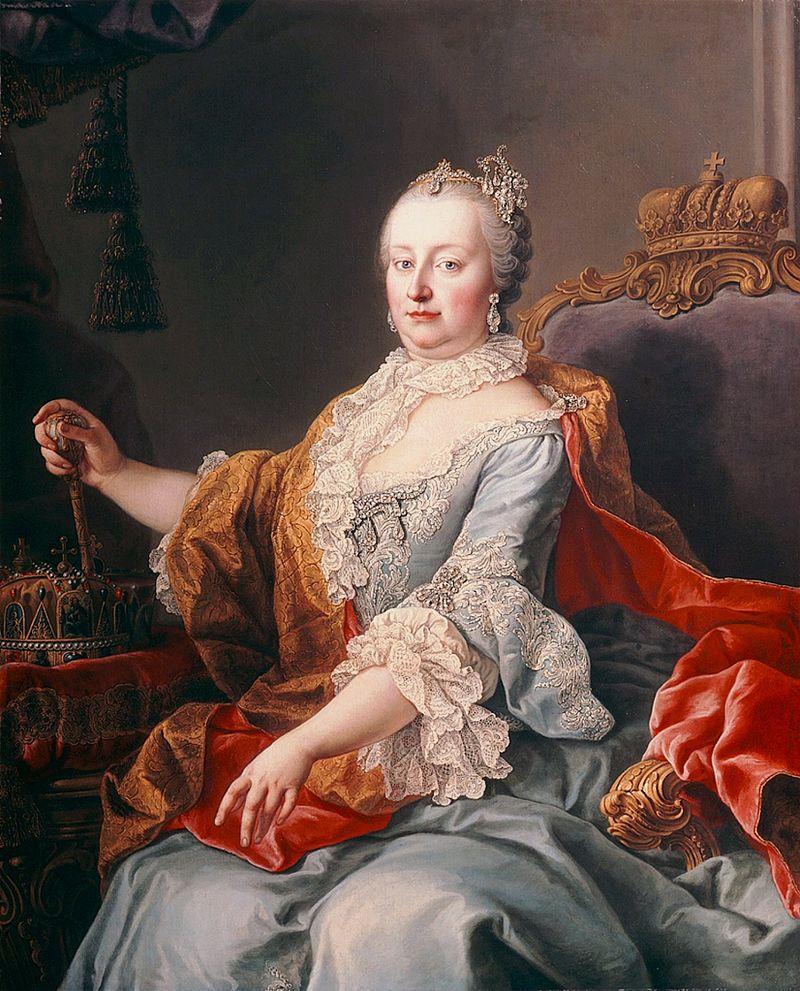 Marie Terezie byla schopná vládkyně, říká se však, že se ani ona nevyhnula rodovému