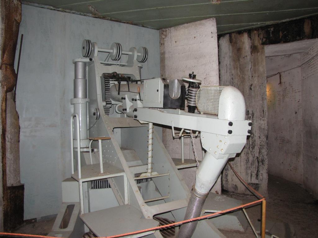 Pevnostní muzeum je nyní částečně osazeno i dobovými zbraněmi (z období před druhou světovou válkou)