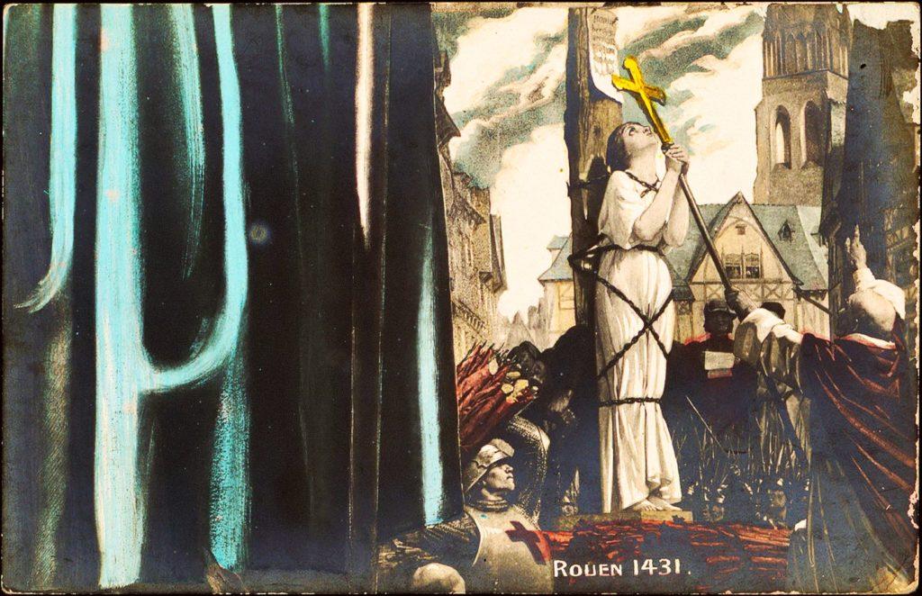 Tajemství Panny Orleánské:  Johanka nebyla z Arku a možná ji neupálili