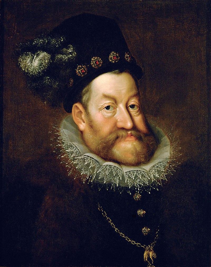 Rudolf II. také nemá ideální genetickou výbavu... Foto: Wikimedia commons - volné dílo