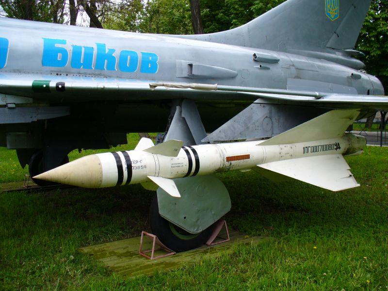 Střela Suchoje pošle letoun do hlubin. George Chernilevsky / Wikimedia commons - CC BY-SA 3.0