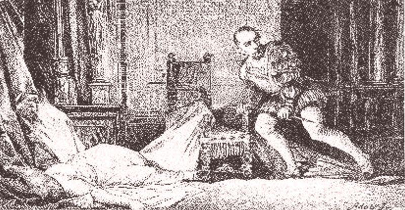 Vrah má modrou krev. Julio nad tělem 15leté milenky... Foto: Wikimedia commons - volné díílo