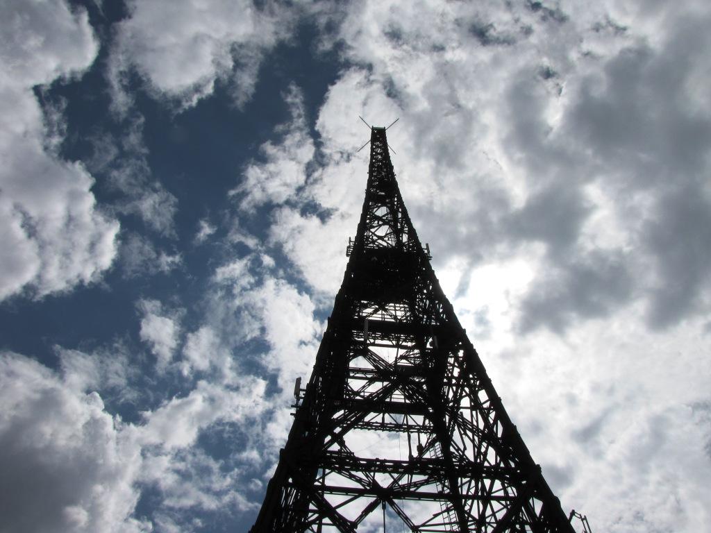 Vysílací věž v Gliwicích.