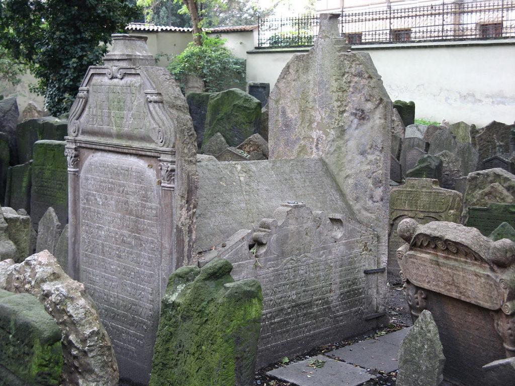 Náhrobek Mordechaje Maisla na Starém židovském hřbitově v Praze. Foto: Buchhändler / Creative Commons - volné  dílo