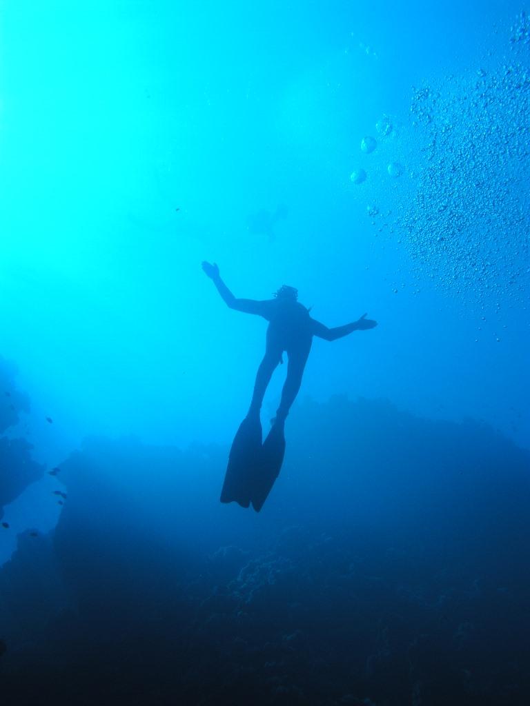 Trénovat freediving je možné i ve sladké vodě. Cílem je však vždy moře.