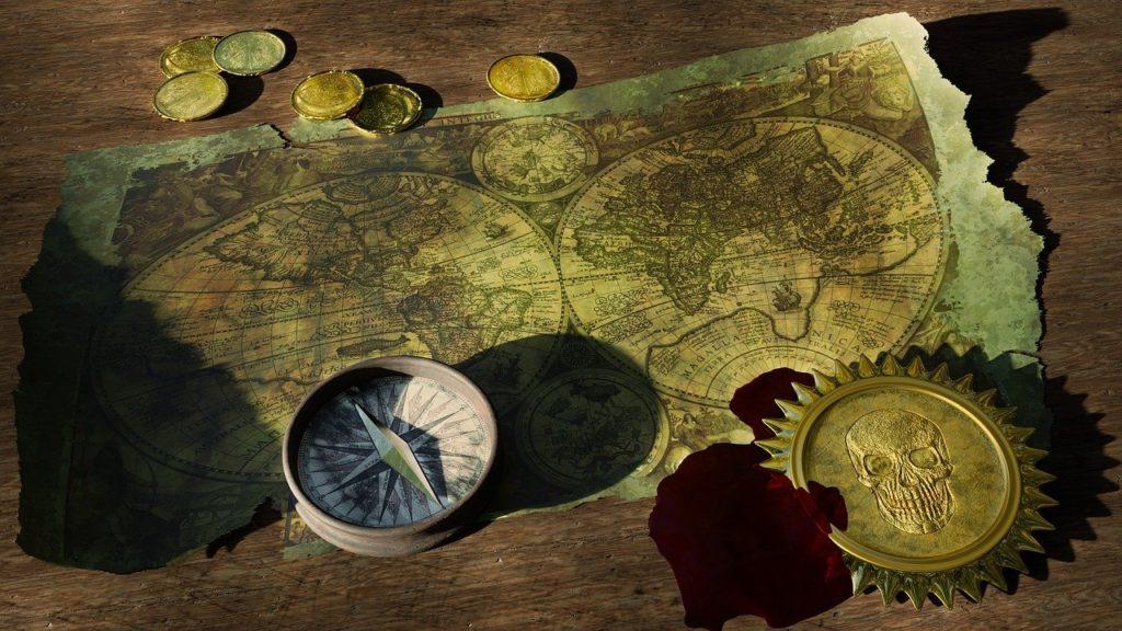 Pokud někdo najde zlatý hřeben, který patří mořské panně, ta ho prý zavede k pirátskému pokladu. Foto: Pixabay