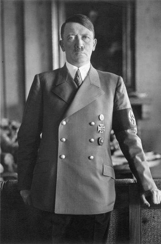 Adolf Hitler prý plánoval šíření vegetariánské osvěty celou Třetí říší. Foto: Bundesarchiv, Bild 183-H1216-0500-002 / CC-BY-SA 3.0
