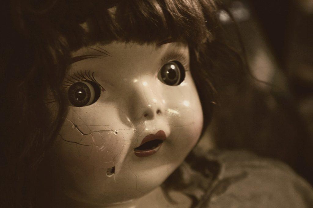 Strašidelné hračky obvykle mají dlouho historii... Foto: Pixabay