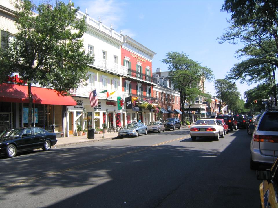 Mměstečko Westfield ve státě New Jersey vypadá malebně - pro jednu rodinu je to ale peklo na zemi. Foto: Donald Siano / Creative Commons / CC BY-SA 3.0