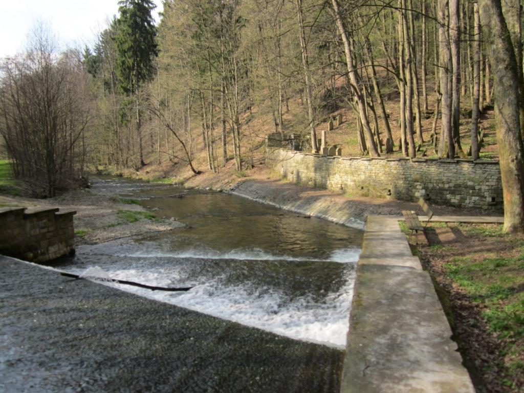 Zlatý potok býval prý v minulosti zlatonosnou vodou…