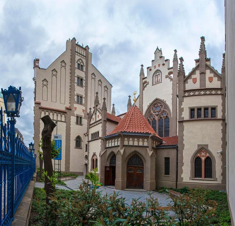 Maiselova synagoga. Její donátor půjčoval peníze i císaři... Foto: Židovské muzeum v Praze / Creative Commons - volné dílo