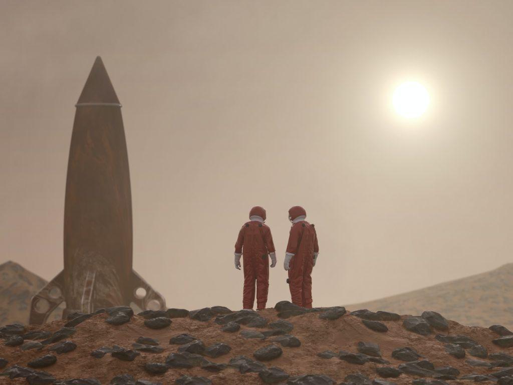 Noviny v tom mají jasno - meteorit je vzkaz z Marsu! Foto: Unsplash