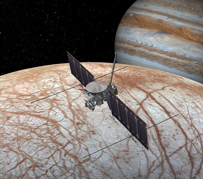 Odpověď snad přinese sonda Europa Clipper v roce 2024. Foto: NASA / JPL-Caltech / Creative Commons / volné dílo