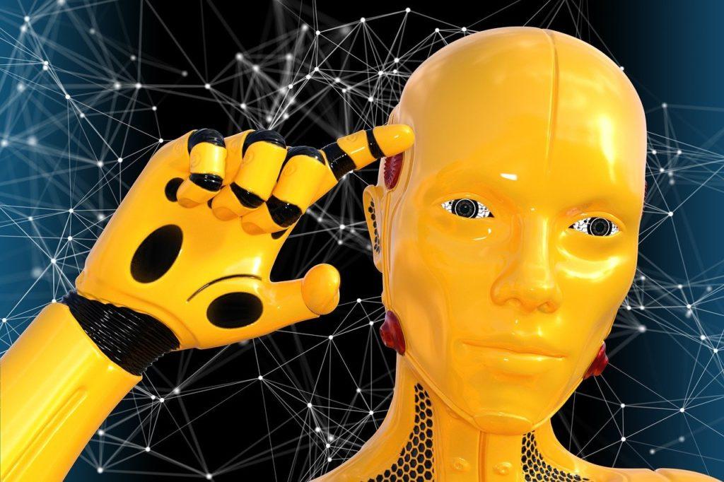EVA – robot, který se usmívá