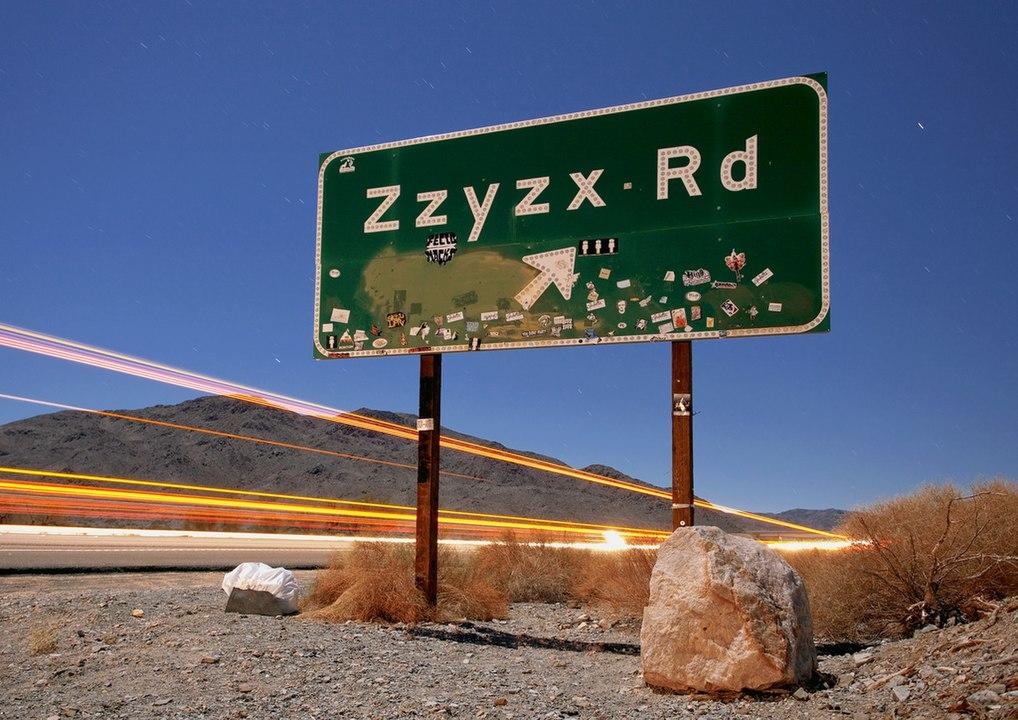 Co ukrývá kalifornské městečko Zzyzx?