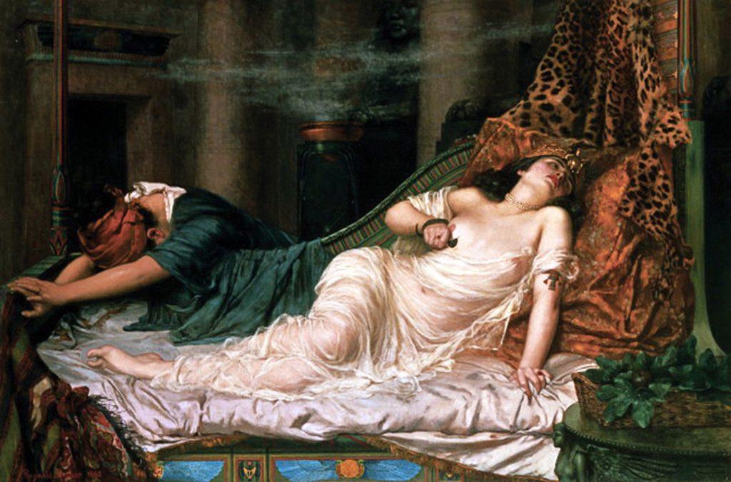 Pravdu o tom, jak Kleopatra skutečně zemřela, se již asi nedozvíme. Verze s hadem patří mezi ty oblíbené. Foto: Wikimedia commons - volné dílo