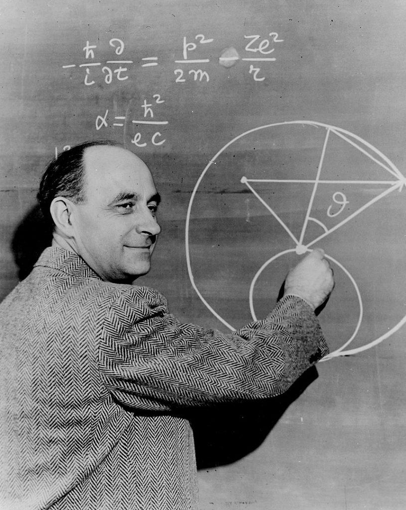 Enrico Fermi má za to, že kdyby existoval život, už by nás kontaktoval. Foto: U.S. Department of Energy / Creative Commons / volné dílo