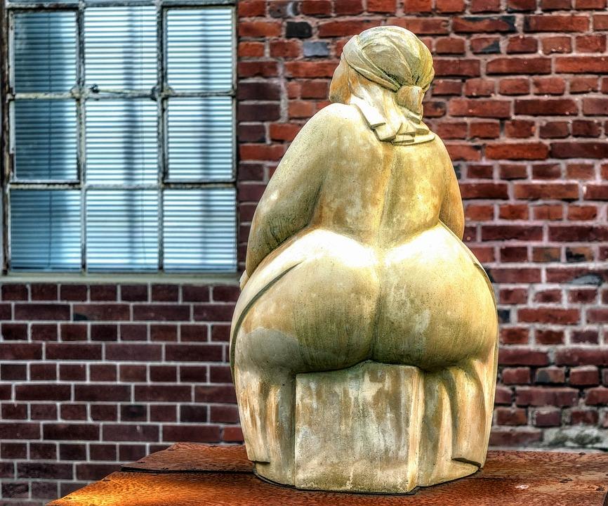 Obézní ženy v době nedostatku potravy například neměly žádné komplikace s donošením dítěte během těhotenství.  Foto: Tama66 / pixabay