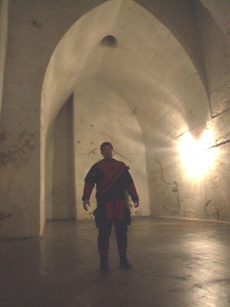 Tyto podzemní prostory  sloužily za druhé světové války jako kostel.
