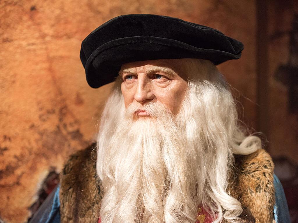 Tajemství da Vinciho malování odhaleno