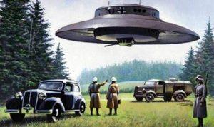 Nové informace z archívů třetí říše: Hitler se chystal zvítězit pomocí UFO!